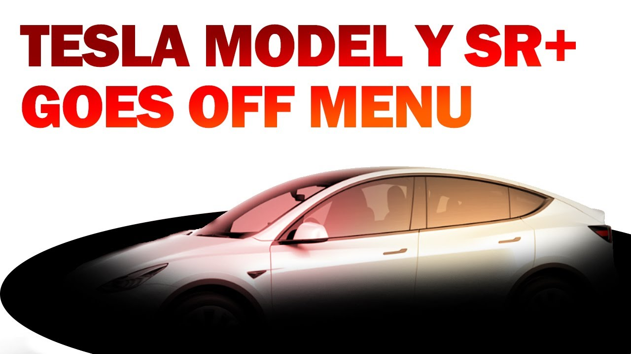 Elon Musk Takes the Tesla Model Y SR+ Off-Menu