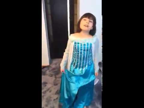 Видео платье эльзы