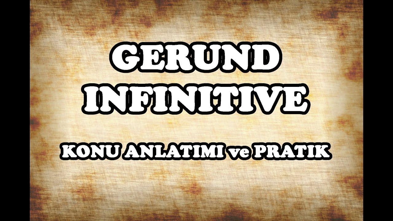 İngilizce Gerundium