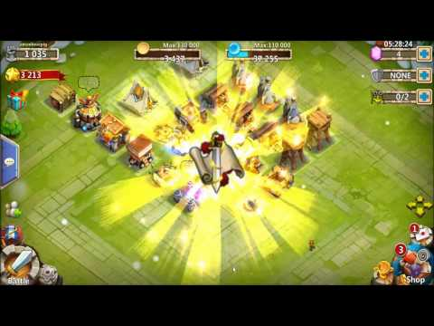 Castle Clash Testing Andy Emulator By Rolling On New Account 022015