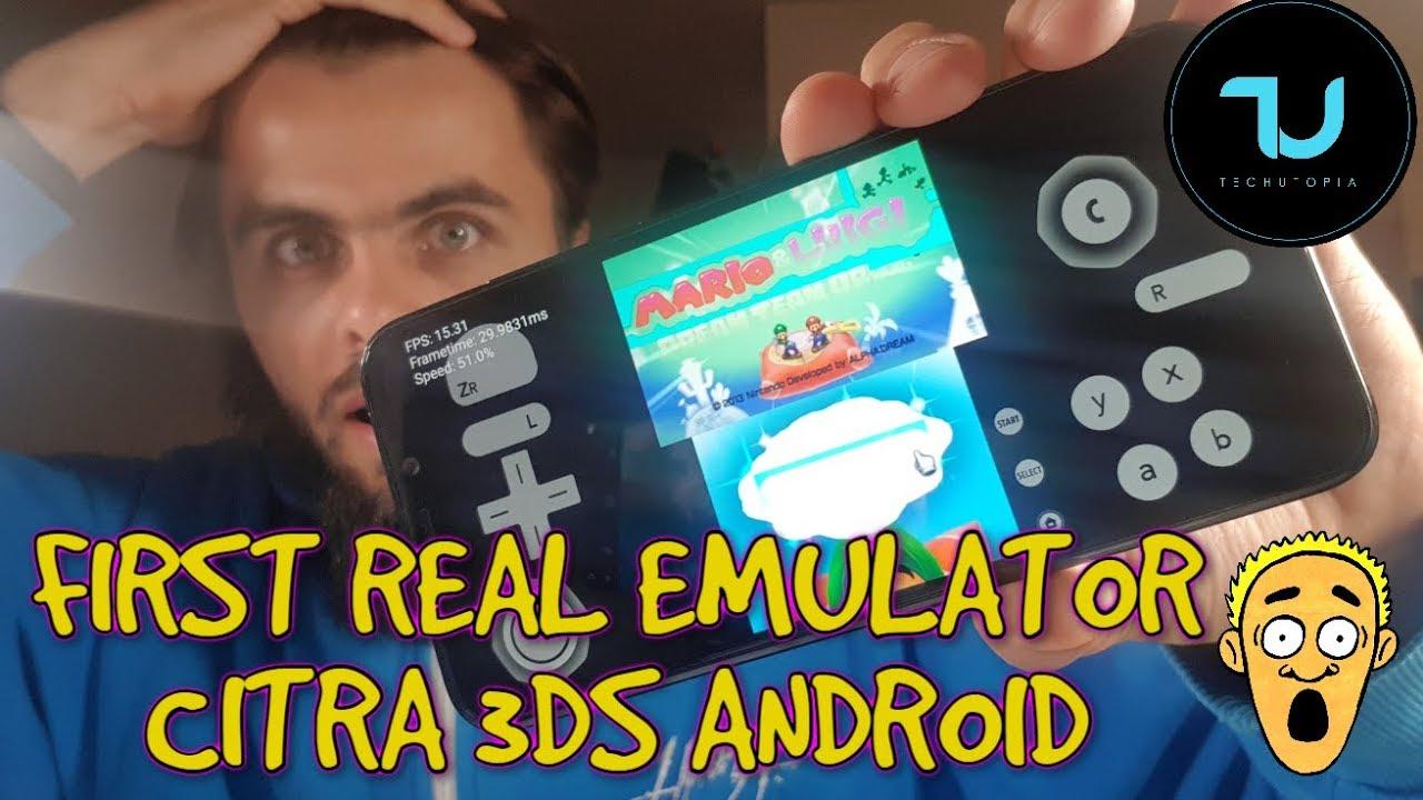 ▷ CITRA El EMULADOR 3DS Para ANDROID ¡DESCÁRGALO YA! 2019