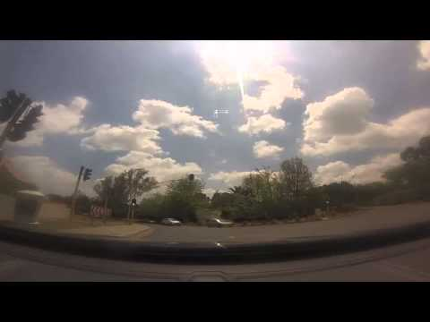Driving through the streets of Johannesburg in real time video 3