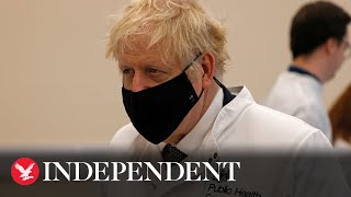 Boris Johnson attempts to head off rebellion by MPs over new tougher tiers