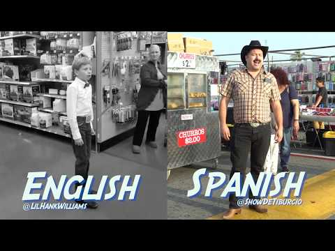 Walmart Kid and Swap Meet Mexican