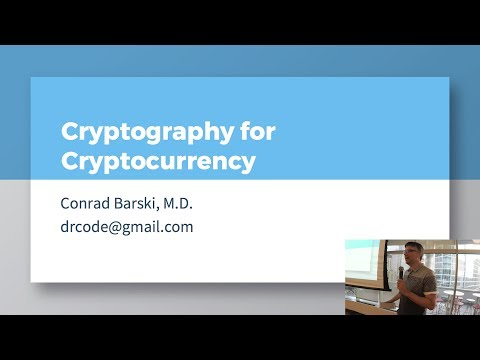 Cryptography for Cryptocurrency (covers Ethereum and Bitcoin)