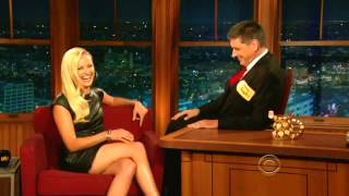 Swedish Seductress Malin Akerman Flirts with Craig Ferguson (Compilation)