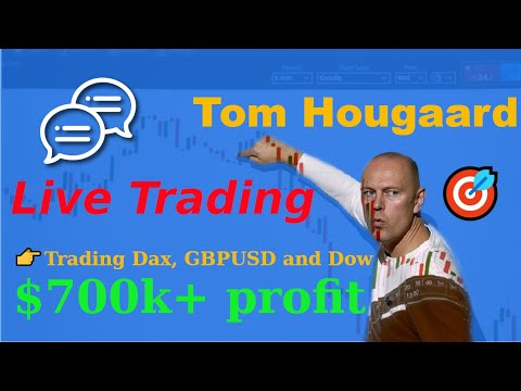 Live Day Trading – $700k+ profit on Dax and Dow
