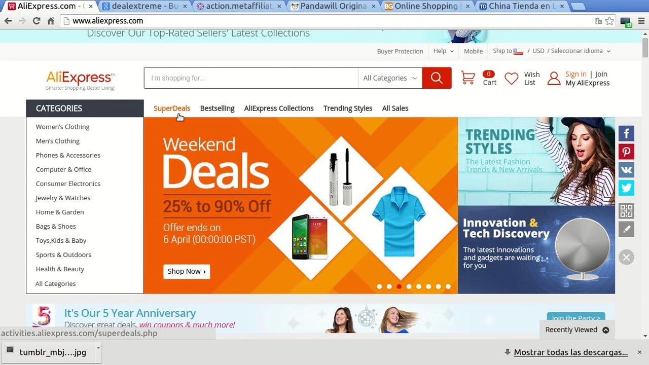 b5b73029292 Los mejores sitios para comprar por internet en China desde Chile ...