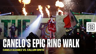 Canelo's Epic Ring Walk Ahead Of Callum Smith Fight