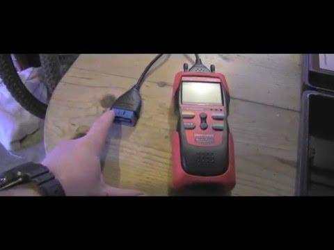 Honda Check Engine Light , How to read codes
