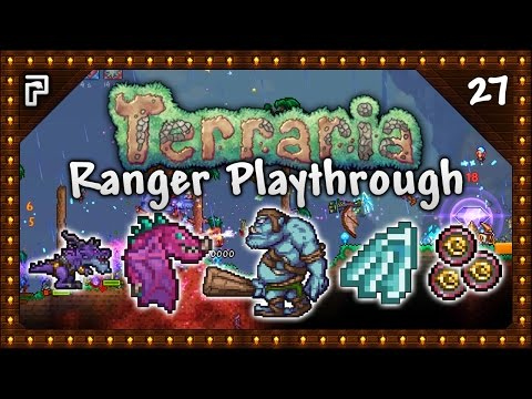 🌳 Terraria 1.3.4 Let's Play | Ranger Playthrough | Tier 2 Old One's Army! Ice Wings! [Episode 27]