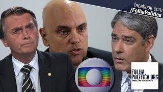 URGENTE: Ministro Alexandre diz que Globo mentiu sobre bilhões em