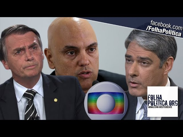 URGENTE: Ministro Alexandre diz que Globo mentiu sobre bilhões em 'resposta' a Bolsonaro