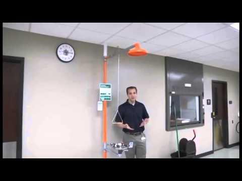 Guide for Safety Shower & Eyewash Station