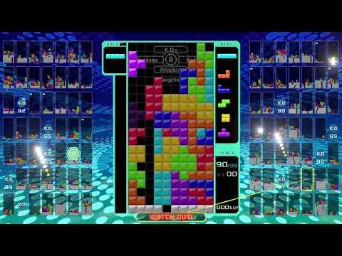 Tetris 99 T-spin Triple  Combo Back to Back