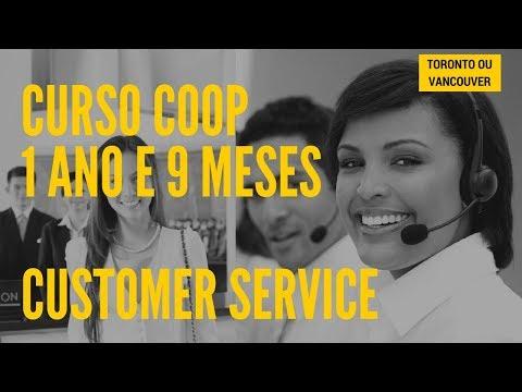 Curso Coop - Customer Service (Toronto Ou Vancouver)