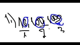 Десятичные логарифмы