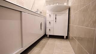 Видео обзор ванной комнаты и туалета 3м2.