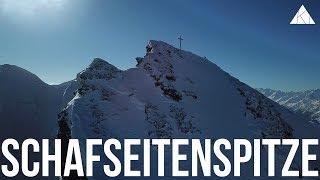 Skitour Schafseitenspitze (2602m) mit gewaltiger Powder Abfahrt