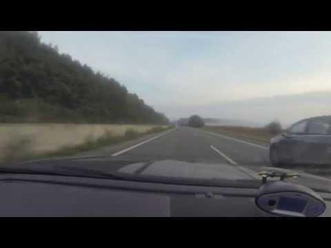 XKR 75 - 186 mph (300 kph) on the A31 Autobahn
