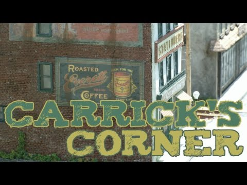 HO scale Hair Stylist, Bookstore Tobacconist and Bakery | Carricks Corner | Railscale Miniatures