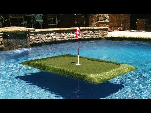 Make a hole in one (in your pool).