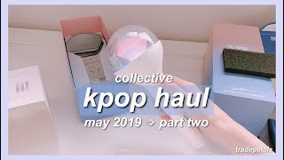 Download collective kpop haul #5 💌; may 2019 part two (svt haru cards, albums and getting a caratbong!) Mp3