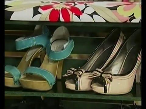 видео: Стильная тумбочка для обуви из старого ящика - Удачный проект - Интер