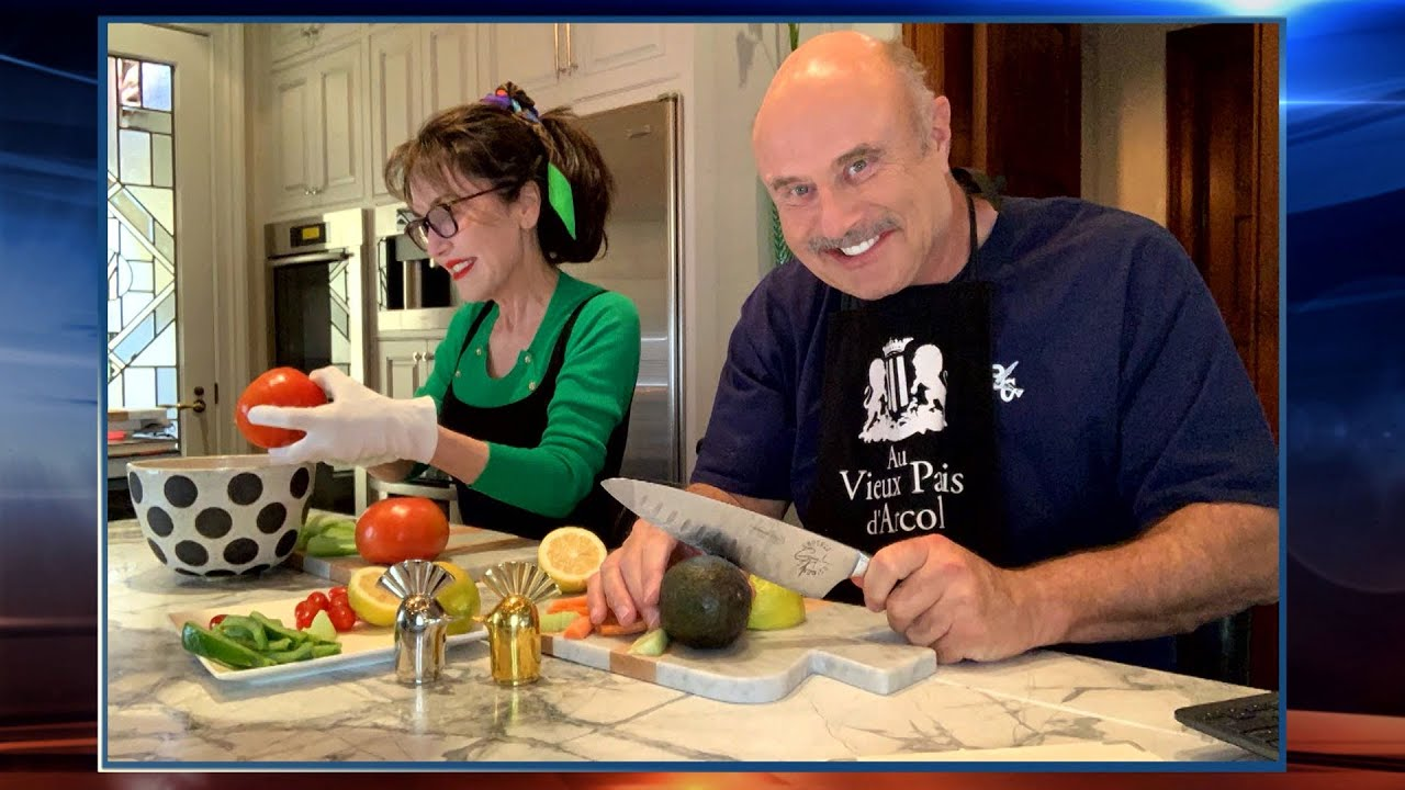 How Dr. Phil And Robin Are Spending Their Time In Isolation At Home – And Maintaining A Happy Mar…
