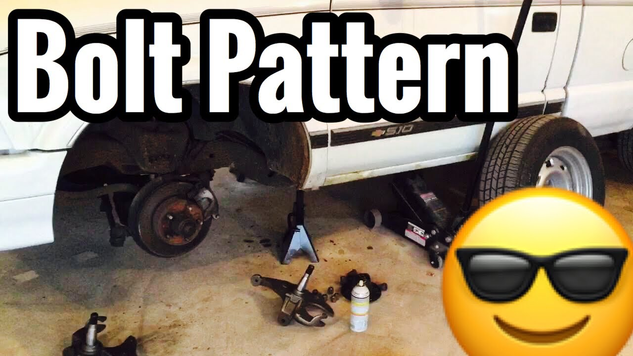 S10 Lug Pattern >> S10 Rim Bolt Pattern Blazers And Jimmys Youtube