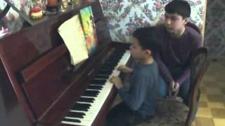 Уроки игры на фортепиано. Семейное обучение мастер класс.