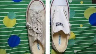 Hướng dẫn vệ sinh giày vải trắng đúng cách không bị ố
