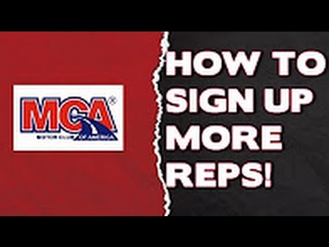 How To Get Tons of MCA Signups for Motor Club of America with TCP