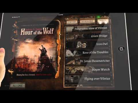 Hour of the Wolf - Interactive 3D book app for iPad and iPhone!