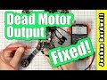 how to fix a bad motor output with betaflight resource remapping
