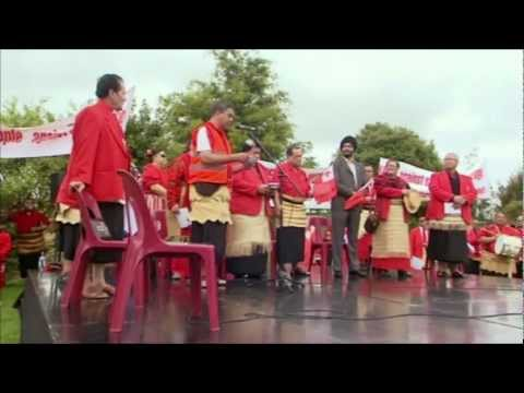 Tongan March Against Gay Marriage