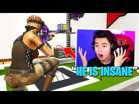 Reacting to the CRAZIEST creative trickshots on my course... (crazy)