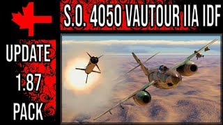 War Thunder - Update 1.87 Pack - S.O. 4050 Vautour IIA IDF