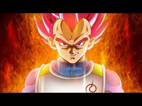 Super Saiyan God Vegeta and Yamoshi