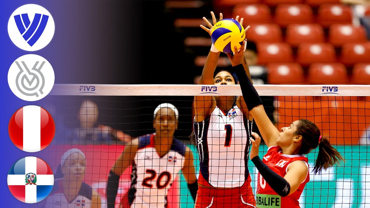Peru vs. Dominican Republic - FULL | Women's Volleyball World Olympic Qualifier 2016