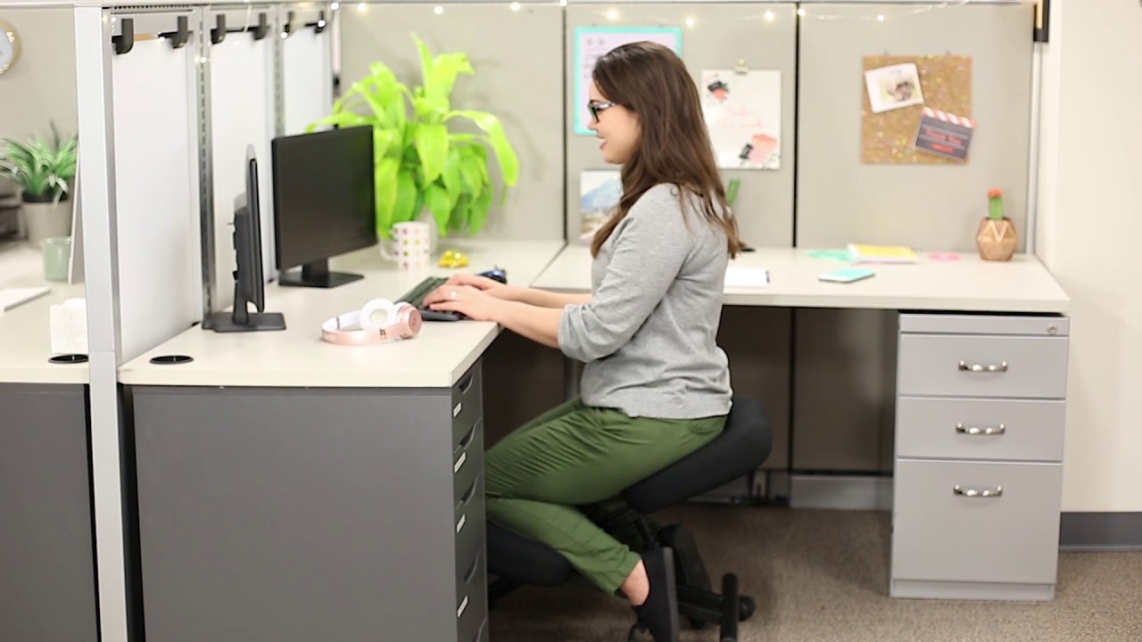 ProErgo Ergonomic Kneeling Chair - Perfect for Relieving Back and Neck Pain u0026 Improving Posture & ProErgo Ergonomic Kneeling Chair - Perfect for Relieving Back and ...