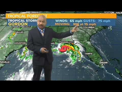 Tropical Storm Gordon to Hit U.S., Florence Now a Hurricane: Full Forecast