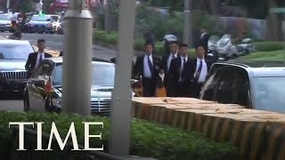 Kim Jong Un's Jogging Bodyguard Unit Make Another Appearance In Singapore | TIME