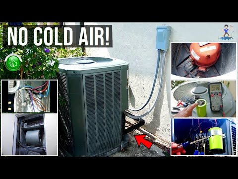 Central A/C Not Blowing Cold Air(Not Cooling)