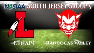 FOOTBALL Lenape Vs. Rancocas Valley