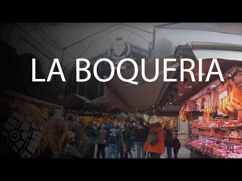 Mercat Boqueria - Mercado de la boqueria - Barcelona - ZXM