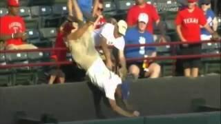 Josh Hamilton Distraught Texas Rangers Baseball Fan Dies, 2011