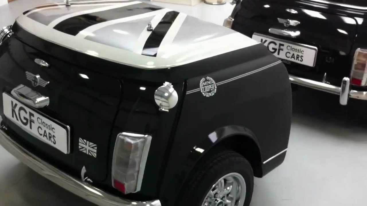 Incredible Mini Cooper Special Edition Black Jack