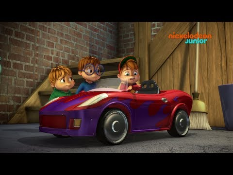 Alvinnn!!! Et les Chipmunks | La voiture d'Alvin | NICKELODEON JUNIOR