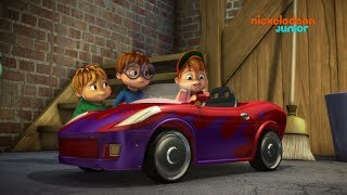 Alvinnn Et les Chipmunks  La voiture dAlvin  NICKELODEON JUNIOR